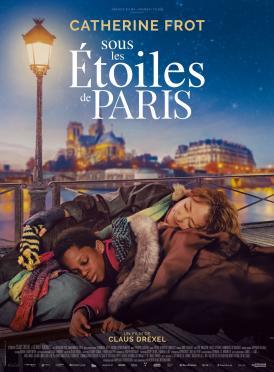 Affiche du film Sous les étoiles de Paris au cinéma Paradiso de St MArtin en Haut