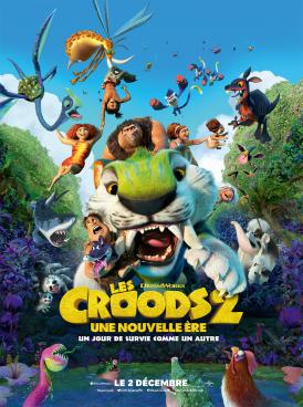 Affiche du film Les Croods 2 : une nouvelle ère au cinéma Paradiso de St MArtin en Haut