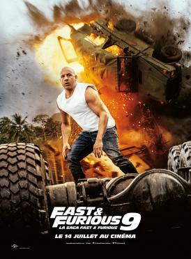 Affiche du film Fast & Furious 9 au cinéma Paradiso de St MArtin en Haut