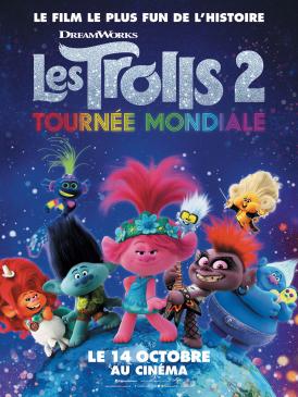 Affiche du film Les Trolls 2 - Tournée mondiale