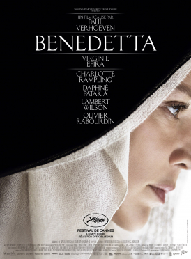 Affiche du film Benedetta au cinéma Paradiso de St MArtin en Haut