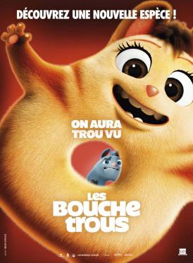 Affiche du film Les Bouchetrous au cinéma Paradiso de St MArtin en Haut