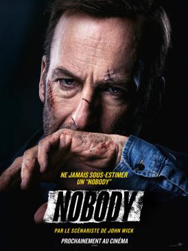 Affiche du film Nobody au cinéma Paradiso de St MArtin en Haut