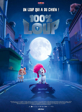 Affiche du film 100% loup