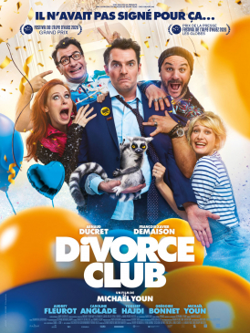 Affiche du film Divorce Club