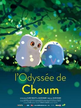 Affiche du film L'Odyssée de Choum au cinéma Paradiso de St MArtin en Haut