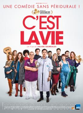 Affiche du film C'est la vie au cinéma Paradiso de St MArtin en Haut