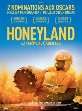 Affiche du film Honeyland au cinéma Paradiso de St MArtin en Haut