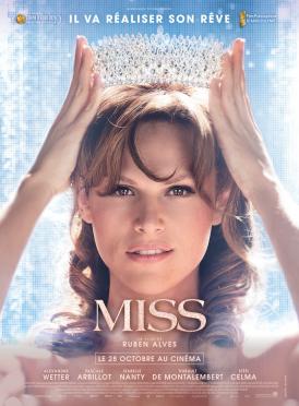 Affiche du film Miss au cinéma Paradiso de St MArtin en Haut