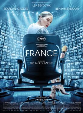 Affiche du film France au cinéma Paradiso de St MArtin en Haut
