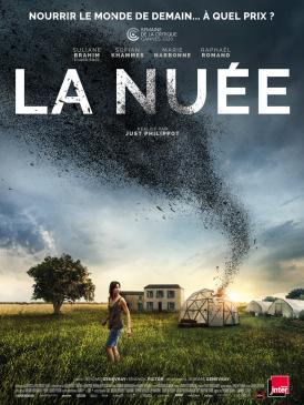 Affiche du film La Nuée au cinéma Paradiso de St MArtin en Haut