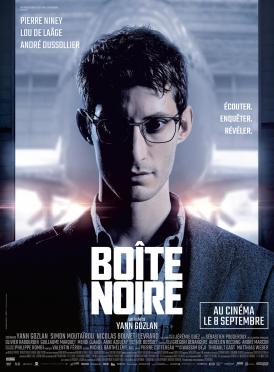 Affiche du film Boîte noire au cinéma Paradiso de St MArtin en Haut