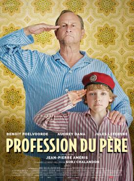 Affiche du film Profession du père au cinéma Paradiso de St MArtin en Haut