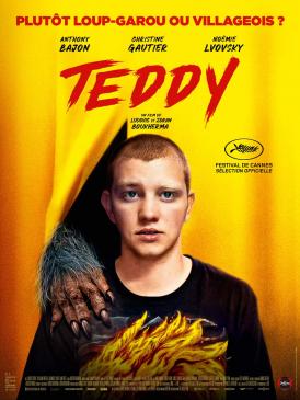 Affiche du film Teddy au cinéma Paradiso de St MArtin en Haut