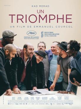 Affiche du film Un Triomphe au cinéma Paradiso de St MArtin en Haut