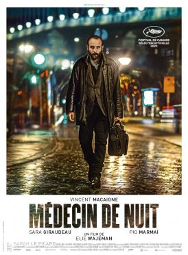 Affiche du film Médecin de nuit au cinéma Paradiso de St MArtin en Haut