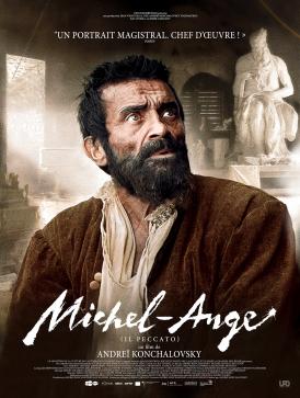 Affiche du film Michel-Ange au cinéma Paradiso de St MArtin en Haut