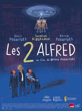 Affiche du film Les 2 Alfred au cinéma Paradiso de St MArtin en Haut