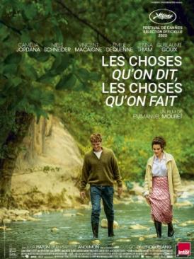 Affiche du film Les Choses qu'on dit, les choses qu'on fait
