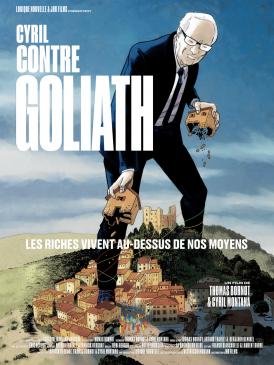 Affiche du film Cyril contre Goliath