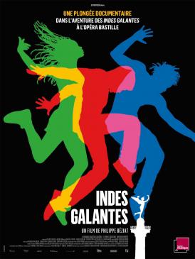 Affiche du film Indes galantes au cinéma Paradiso de St MArtin en Haut