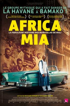 Affiche du film Africa Mia au cinéma Paradiso de St MArtin en Haut