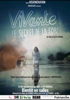 Affiche du film Vivante ! au cinéma Paradiso de St MArtin en Haut