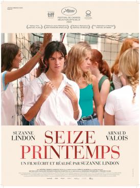 Affiche du film Seize Printemps au cinéma Paradiso de St MArtin en Haut