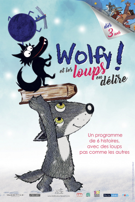 Affiche du film Wolfy & les loups en délire