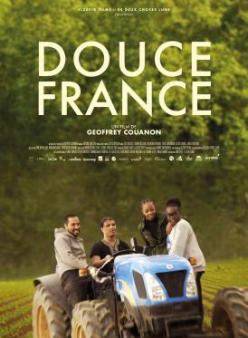Affiche du film Douce France au cinéma Paradiso de St MArtin en Haut