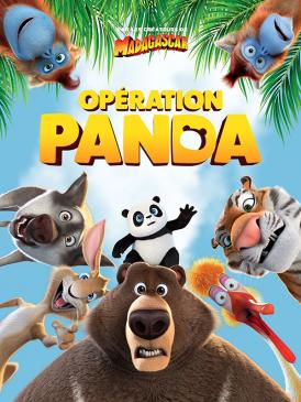 Affiche du film Opération Panda au cinéma Paradiso de St MArtin en Haut