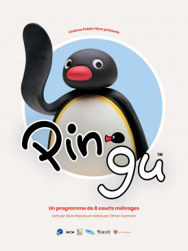 Affiche du film Pingu au cinéma Paradiso de St MArtin en Haut
