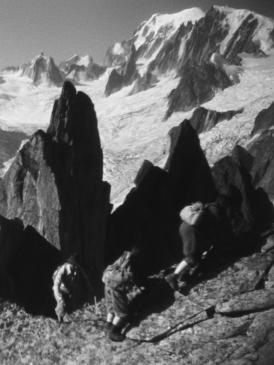 Affiche du film Premier de cordée au cinéma Paradiso de St MArtin en Haut