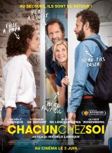 Affiche du film Chacun chez soi au cinéma Paradiso de St MArtin en Haut